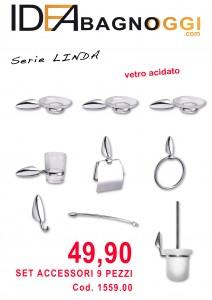 accessori bagno LINDA