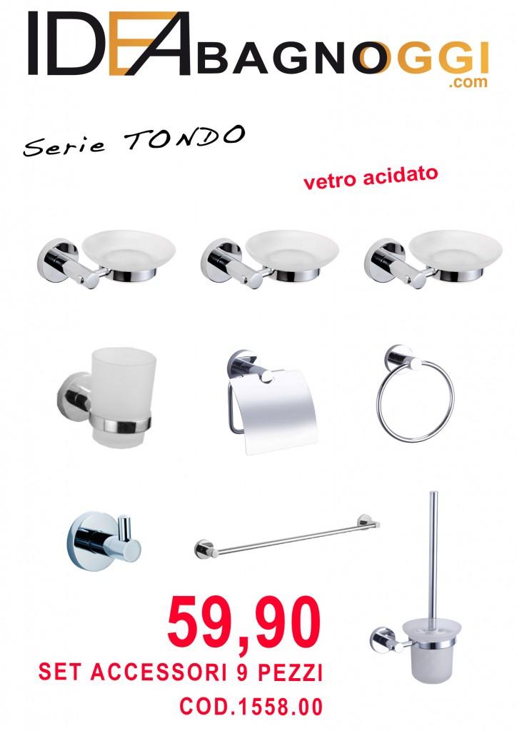 accessori bagno TONDO