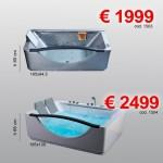 Vasche idro – disponibili da fine Novembre