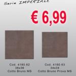 Cod. 4180.62/63 – 36×36 – Serie Imperiale – Cotto Rosso