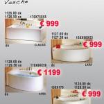 Vasche Idro – Serie Claudia, Lara, Afra, Lori