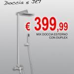 Cod. 1140.99 – MIX DOCCIA ESTERNO CON DUPLEX