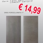 Ceramica 30,5×61 – Serie City Grey e Cement Antico