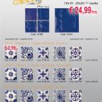 Caleidos marina 10×10/20×20 e decori serigrafati 10×10