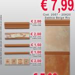 Ceramica 20×20 – Romagna Beige e Sabbia Rosa