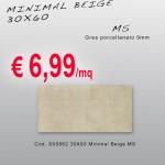 Ceramica – Svendita – 30X60 – Minimal Beige