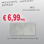 Ceramica – Svendita – 30X60 – Minimal Grigio
