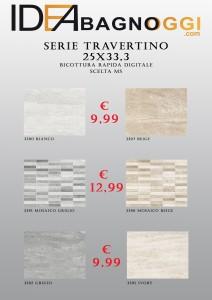 Serie Travertino 25x33,3