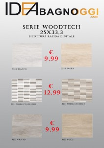 Serie WOODTECH 25x33,3
